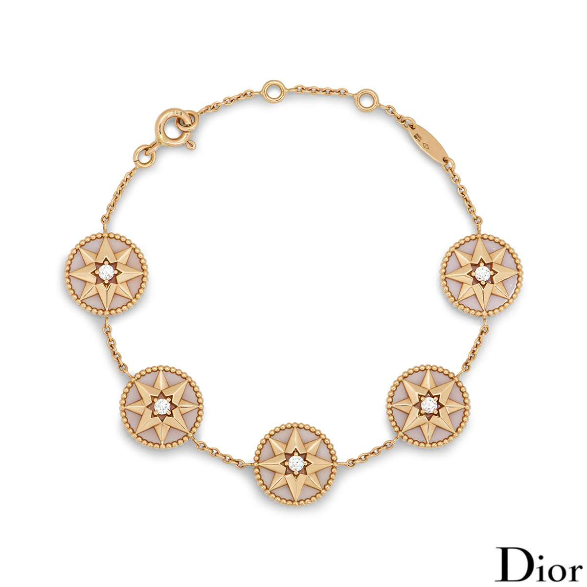 Dior Rose Gold Rose des Vents Bracelet JRDV95063